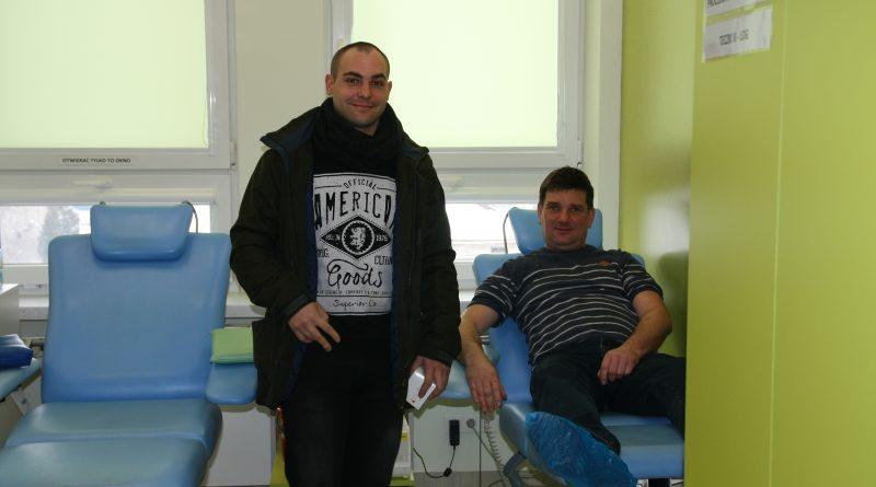 Spokrewnieni służbą – akcja oddawania krwi