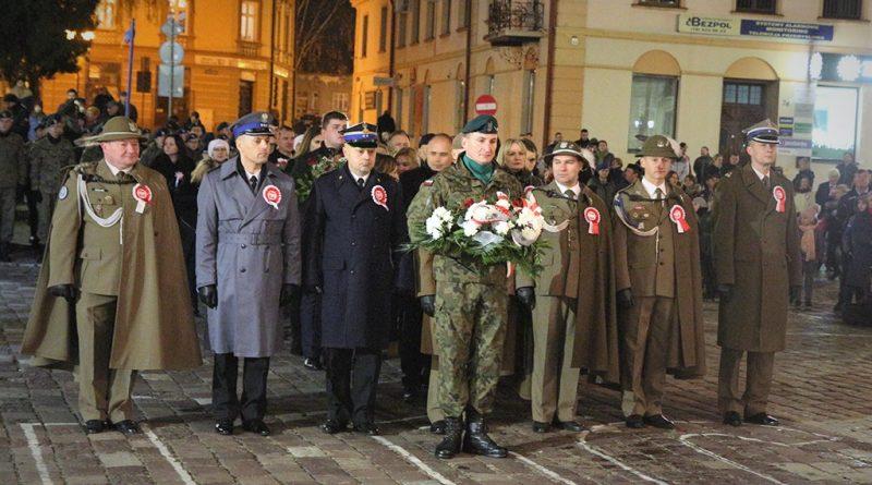 Obchody 101 rocznicy Odzyskania Niepodległości w Garnizonie Jarosław