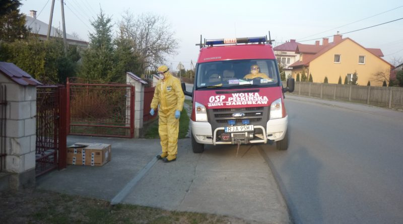 Ochotnicze Straże Pożarne niosą pomoc mieszkańcom  powiatu jarosławskiego.